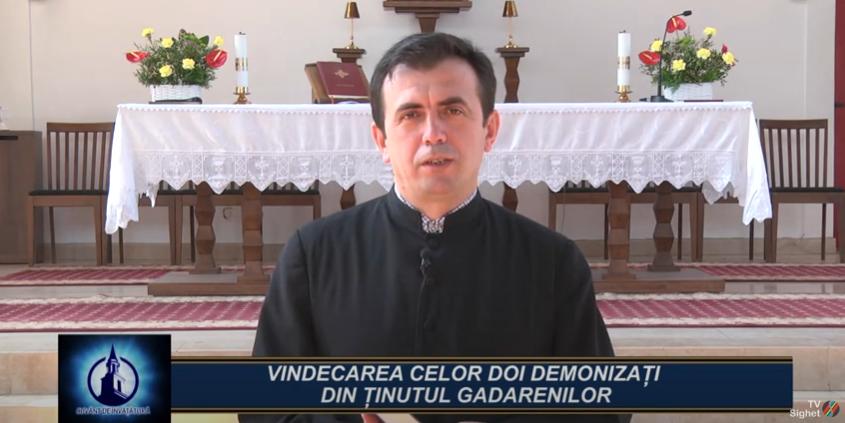 CUVÂNT DE ÎNVĂȚĂTURA   Vindecarea celor doi Demonizați din Ținutul Gadarenilor