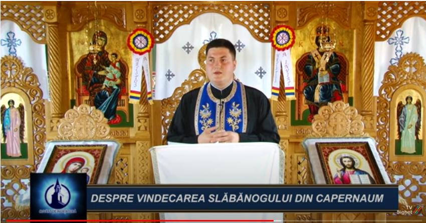 CUVÂNT DE ÎNVĂȚĂTURA | Despre Vindecarea Slăbănogului din Capernaum