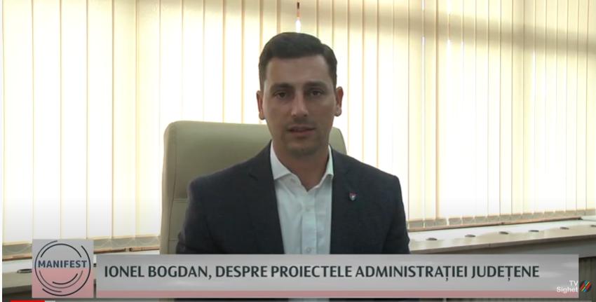 MANIFEST    Ionel Bogdan, despre Proiectele Administrației Județene