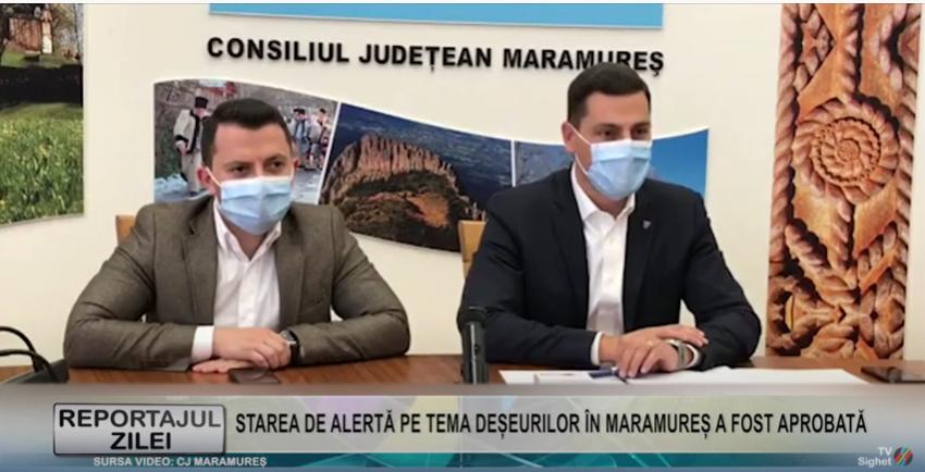 REPORTAJUL ZILEI   STAREA DE ALERTĂ PE TEMA DEȘEURILOR ÎN MARAMUREȘ A FOST APROBATĂ