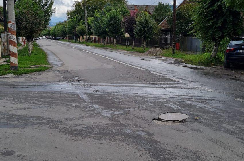 Când vor începe lucrările pe strada Avram Iancu din Sighetu Marmației?