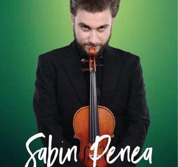 EVENIMENT: Un concert susținut de violonistul Sabin Penea va avea loc vineri în Sighetu Marmației