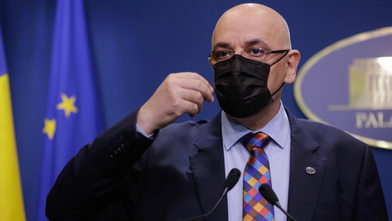 Arafat îndeamnă românii să anunţe autorităţile dacă unele persoane nu sunt verificate în restaurante, la petreceri: Nu e pâră, e normal