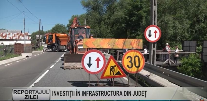 REPORTAJUL ZILEI | INVESTIȚII ÎN INFRASTRUCTURA DIN JUDEȚ