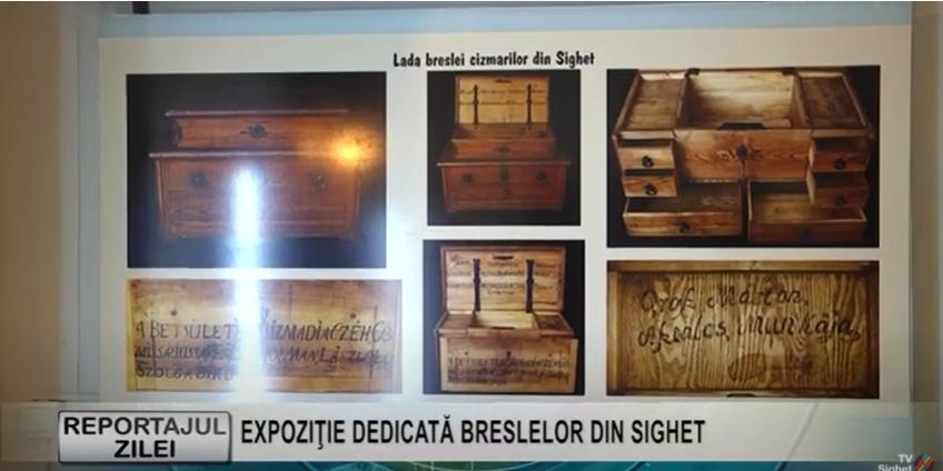 REPORTAJUL ZILEI   EXPOZIŢIE DEDICATĂ BRESLELOR DIN SIGHET