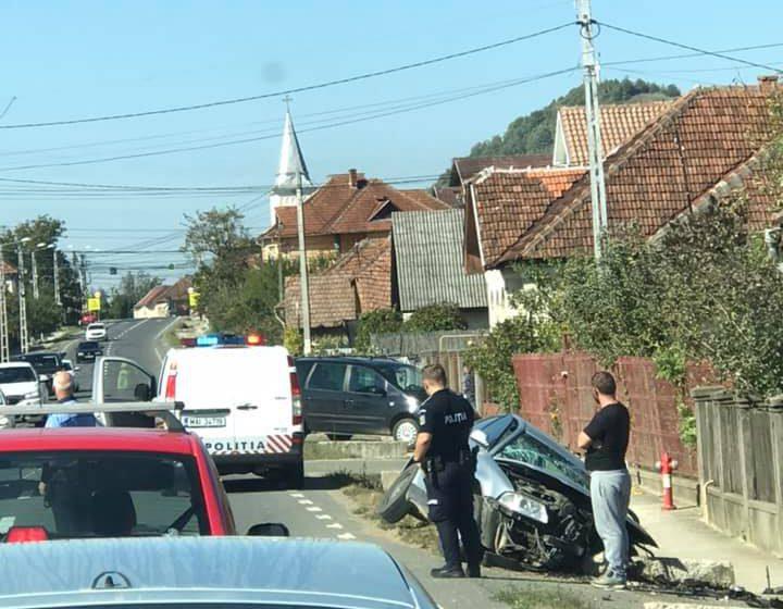 Accident rutier cu două victime în Săbișa