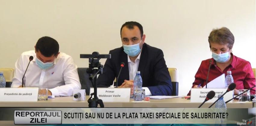REPORTAJUL ZILEI   SCUTIȚI SAU NU DE LA PLATA TAXEI SPECIALE DE SALUBRITATE