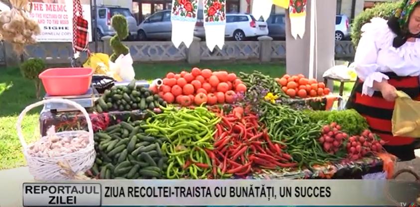 REPORTAJUL ZILEI |  ZIUA RECOLTEI TRAISTA CU BUNĂTĂȚI, UN SUCCES